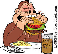 ape burger