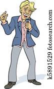 Male pop singer