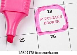 Mortgage broker mark