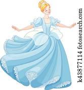 The Ball Dance of Cinderella