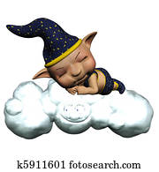 the sandman sleep on the cloud - is