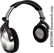 Large DJ Headphones