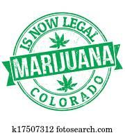 Marijuana is now legal stamp