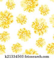 Luxueux Couleur Pivoine Pattern Banque D Illustrations