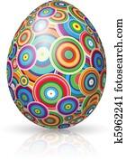 osterbilder, egg.