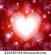 valentines heart background 1612