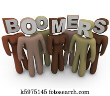 Boomers - People of Different Races and Older Age