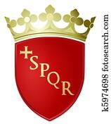 Rome city coat arms
