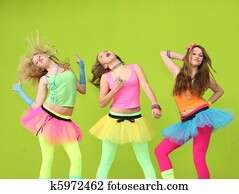 teens dancing at birthday party