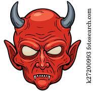 Teufel Gesicht