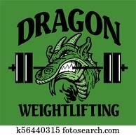 dragon weightlifting