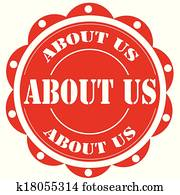 About Us-label