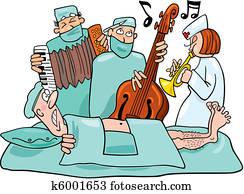 Crazy surgeons operation band