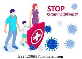 china, schlachten, coronavirus, outbreak., coronavirus, 2019-nc0v, outbreak,, reise, wachsam, concept., dass, virus, ueberfaellt, dass, atmungs, tract,, pandemisch, medizinische gesundheit, risiko