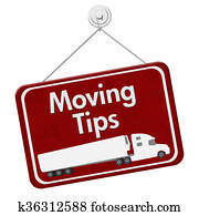 Moving Tips Sign