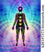 New Chakras and Energy Matrix Field