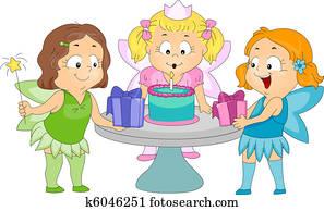 Birthday Fairy Theme