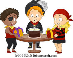 Birthday Pirate Theme