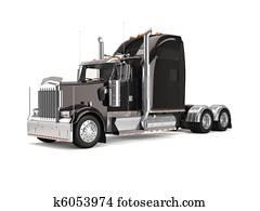 black american truck