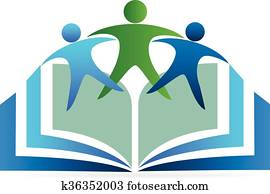 Book education logo