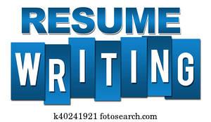 Resume Writing Professional Blue