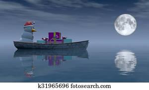 boat christmas