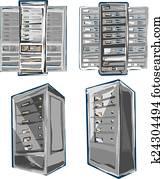 Server Rack.