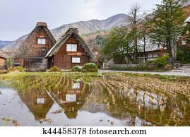 Traditionelle japanisches haus stock photo bilder for Klassisches japanisches haus
