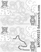 Bears maze
