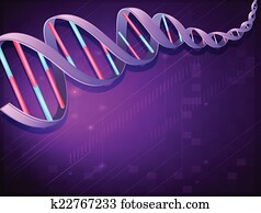 An image of a DNA