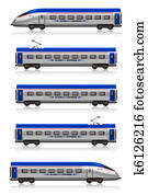Inter City Express train set