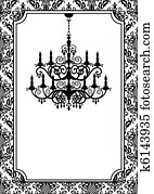 Vintage chandelier