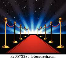 Red carpet to the stars
