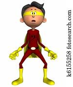 Toon Figure Super Hero