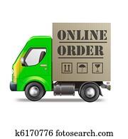 online order internet shop