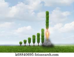 Business Growing Success