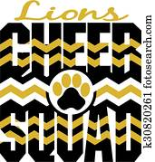 lions cheer squad