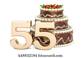 Happy Fifth Birthday Meaning 5th Party Celebration 3d Illustration