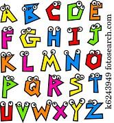 Funky Alphabet