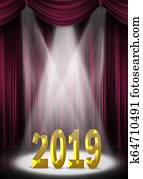maroon and gold graduation 2019 spotlight