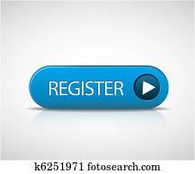 Big blue register button
