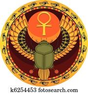 Egyptian sacred bug