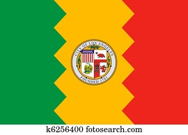 Los Anglese city flag