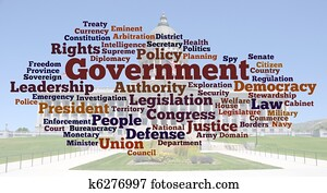 Government Word Cloud Photo