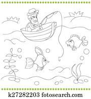 Clipart Ausmalbilder Für Kinder K25493821 Suche Clip Art