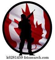 Canadian Soldier Logo