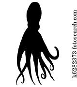 Octopus Silhouette