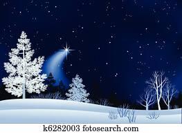 winterlandschaft, abbildung