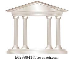 griechischer, tempel