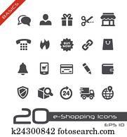 e-Shopping Icons // Basics
